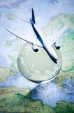 航空旅行 免版税库存图片