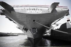 航空母舰 库存图片