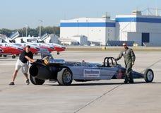 航空汽车强制喷射我们 库存照片