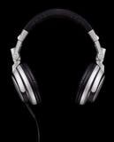航空浮动的耳机 图库摄影