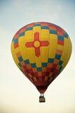 航空热baloon的节日 免版税图库摄影