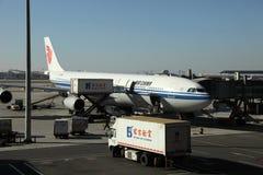 航空航空器瓷 库存照片
