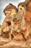 航空行程著名城市Cappadocia在土耳其 库存图片