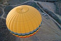 航空轻快优雅热cappadocia的飞行 免版税库存图片