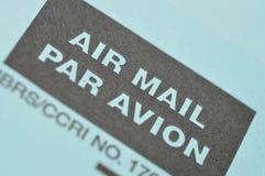 航空邮件 免版税库存照片