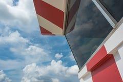 航空阿姆斯特丹控制国际schiphol塔业务量 库存图片