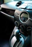 航空音频汽车适应的控制面板 库存照片