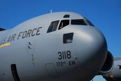 航空飞机货物迫使我们 免版税库存照片