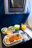 航空餐 免版税图库摄影