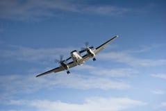 航空b200超级beechcraft的国王 免版税库存图片