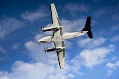 航空b200超级beechcraft的国王 图库摄影
