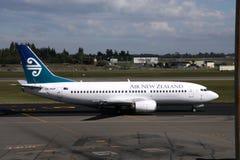 航空b737新西兰 免版税库存照片