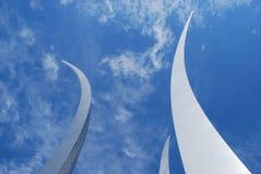 航空dc强制纪念碑华盛顿 库存照片