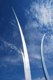 航空dc强制纪念碑华盛顿 免版税库存图片