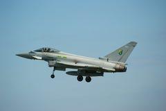 航空eurofighter显示森德兰台风 免版税图库摄影