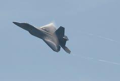 航空f22强制猛禽我们 库存照片