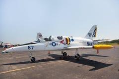 航空L-39 Albatros冷战喷气机 库存图片