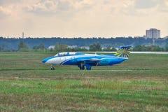 航空L-29 Delfin 免版税库存照片