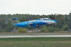 航空L-29 Delfin 库存图片