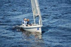 航行与专家 免版税库存照片