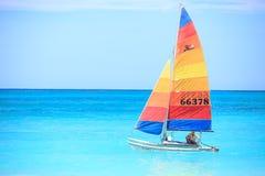 航行与风 免版税图库摄影