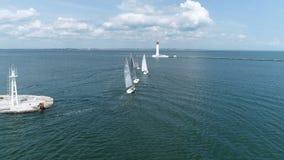 航行在口岸的赛船会,游艇去公海 股票录像