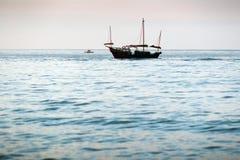 航行在地中海 图库摄影