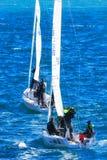 航行在地中海 库存照片