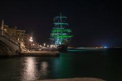 航行在威尼斯 免版税库存图片