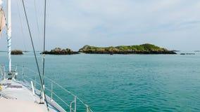 航行在布里坦尼(2) 免版税库存照片