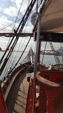 航行在船 免版税库存图片