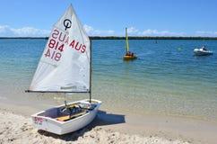 航行在英属黄金海岸昆士兰澳大利亚 图库摄影