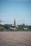 航行布宜诺斯艾利斯,圣Isidro大教堂,旅行的阿根廷 图库摄影