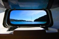 航行有看法 库存照片