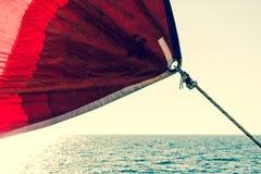 航行远离家 免版税库存图片