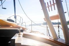 航行通过南卡罗来纳水 免版税图库摄影