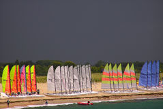 航行风雨如磐 免版税库存图片