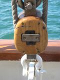航行齿轮特写镜头 库存图片
