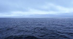 航行,美国,阿拉斯加,海,清早,安静和冷 股票录像