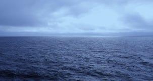 航行,美国,阿拉斯加,海,清早,安静和冷 股票视频