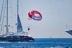 航行,风帆,海,车,小船,地球,海洋大气  免版税图库摄影