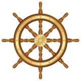 舵轮子 免版税库存照片