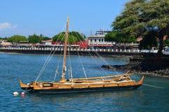舷外架在毛伊,夏威夷 免版税库存图片