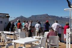 船乘客到达的开普敦南非 免版税图库摄影
