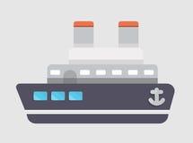 船传染媒介Transporation 免版税库存照片