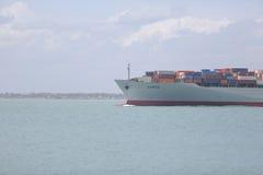 船前面斯里兰卡的海 免版税库存照片