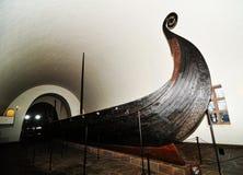 船北欧海盗 免版税图库摄影