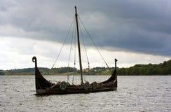 船北欧海盗 库存图片