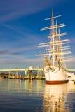 船北欧海盗 图库摄影