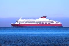 船在波罗的海 免版税库存照片